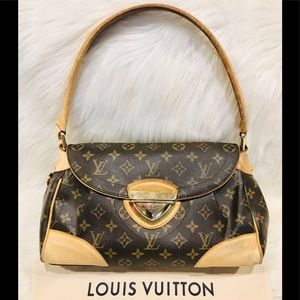 Authentic Louis Vuitton Beverly MM #8.7R